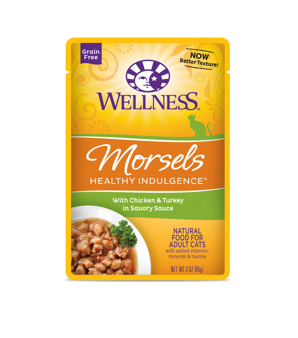 Wellness Healthy Indulgence Morsels - Chicken & Turkey 3oz
