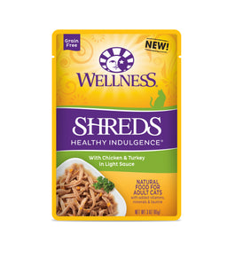Wellness Healthy Indulgence Shreds - Chicken & Turkey 3oz