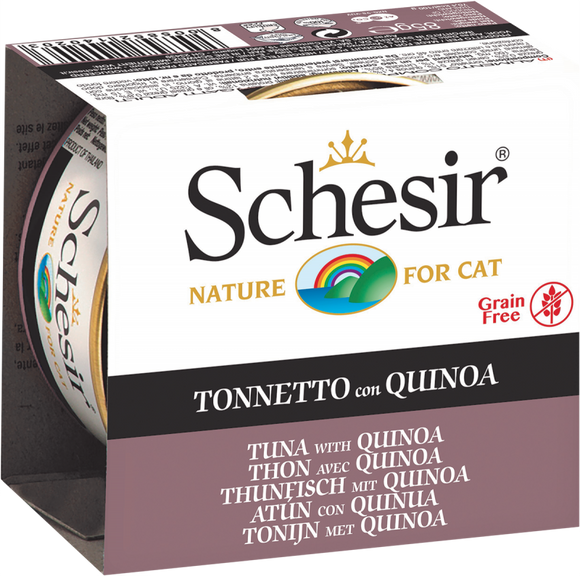 Schesir Cat Can in Jelly Tuna with Quinoa