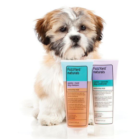 FuzzYard Jojoba + Lavender Moisturising Dog Conditioner