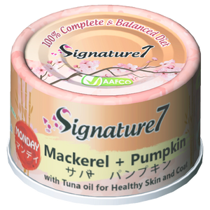 Signature7 MONDAY Mackerel + Pumpkin 70g