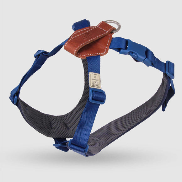 Sputnik COMFORT DOG HARNESS BLUE
