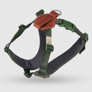 Sputnik COMFORT DOG HARNESS GREEN
