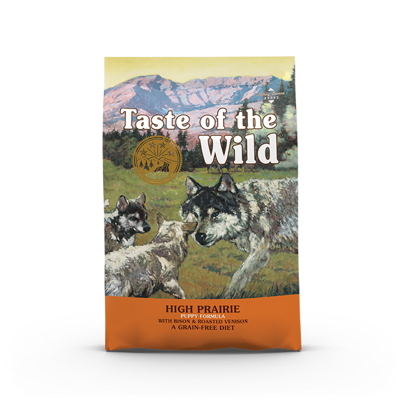 Taste of the Wild High Prairie Puppy Recipe with Bison & Roasted Venison