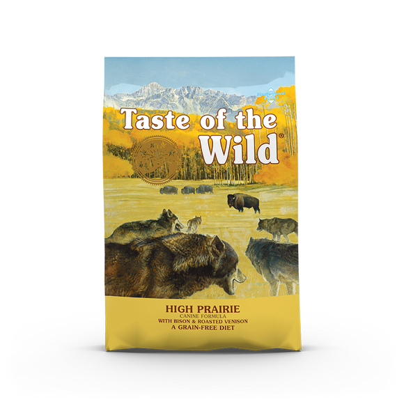 Taste of the Wild High Prairie Canine Recipe with Roasted Bison & Roasted Venison