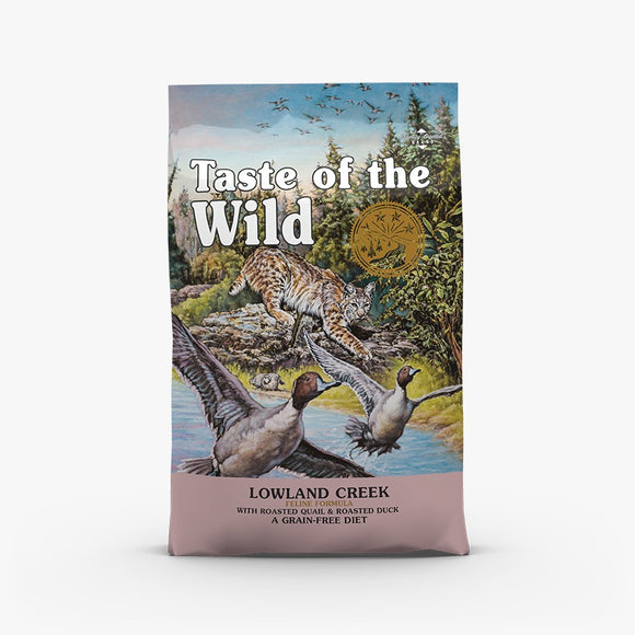 Taste of the Wild Lowland Creek Roasted Quail & Roasted Duck Dry Cat Food