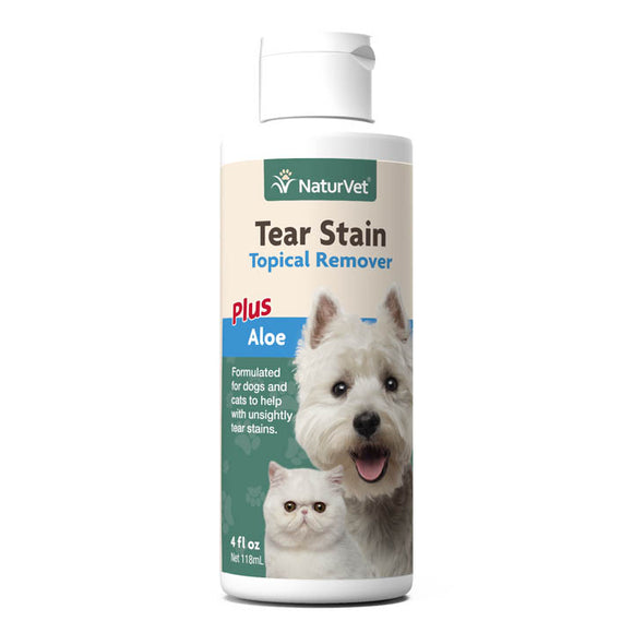 NaturVet Tear Stain Topical Remover Plus Aloe
