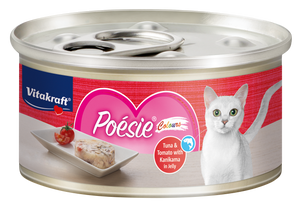 Vitakraft Poesie Colours Tuna & Tomato in Jelly 70g