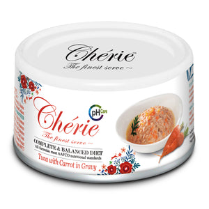 Chérie, Tuna with Carrot in Gravy - Urinary Care