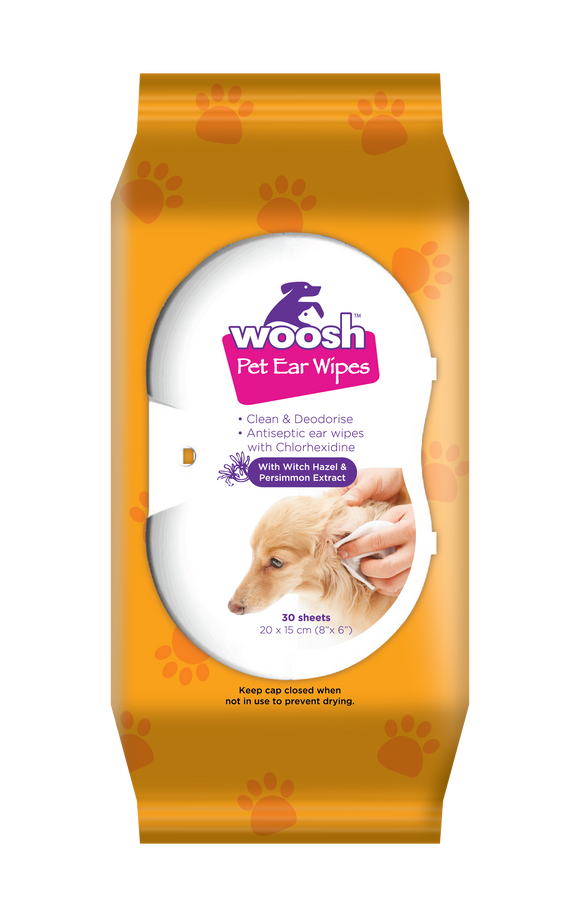 Woosh Ear Wipes 30 sheets