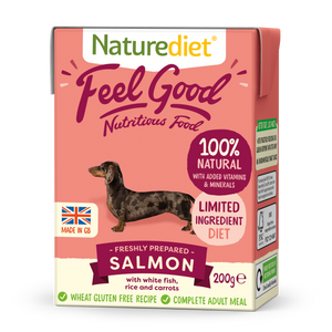 Naturediet Feel Good Nutritious Dog Food - Salmon 200g