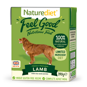 Naturediet Feel Good Nutritious Dog Food - Lamb 390g