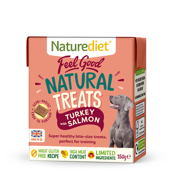 Naturediet Feel Good Natural Treats Turkey & Salmon 150g