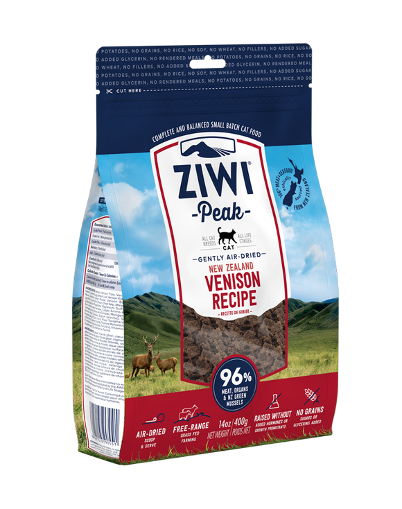 ZIWI Peak Air-Dried Venison Cat Food 400G