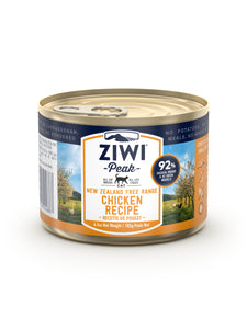 ZIWI Peak Chicken Canned Cat Food 185G