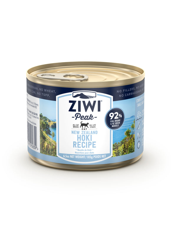 ZIWI Peak Hoki Canned Cat Food 185G