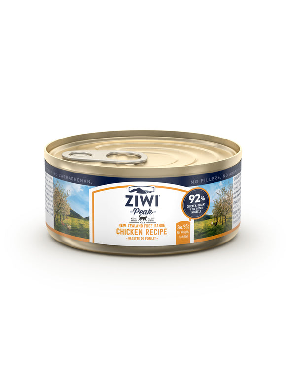 ZIWI Peak Chicken Canned Cat Food 85G