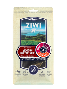 ZIWI Air-Dried Dog Treats - Venison Green Tripe