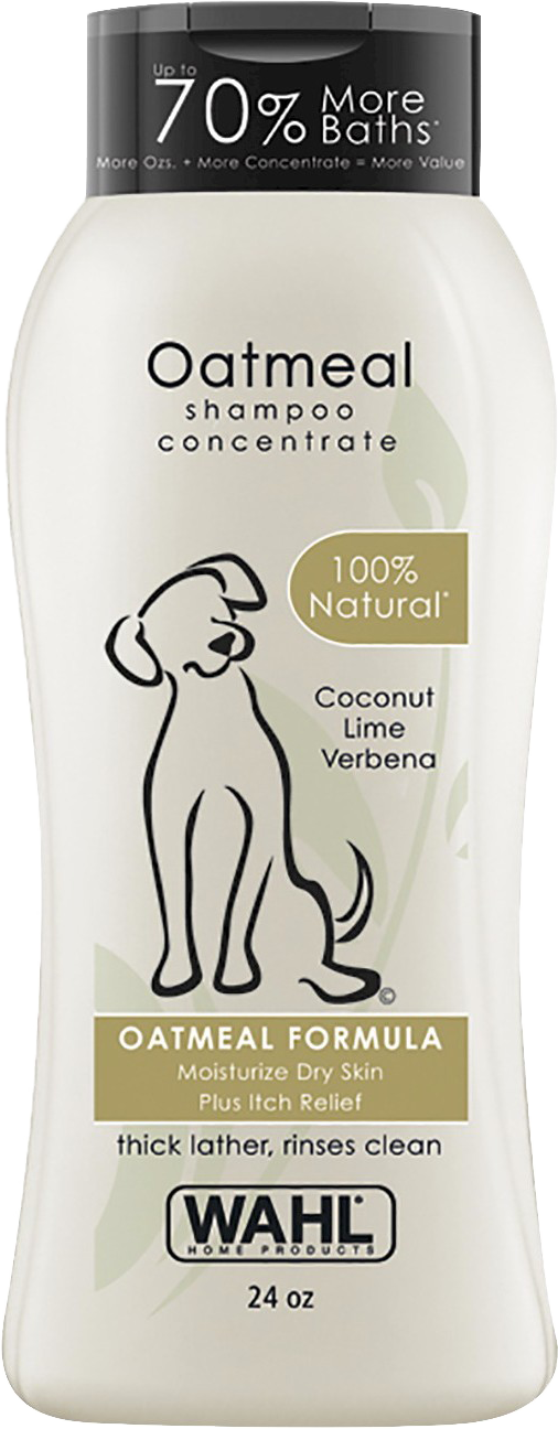 Wahl Oatmeal Dog Shampoo 24oz