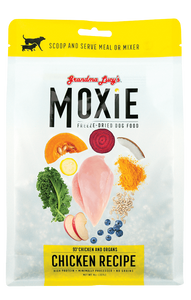 GRANDMA LUCY'S MOXIE FREEZE DRIED DOG FOOD - CHICKEN (8OZ)