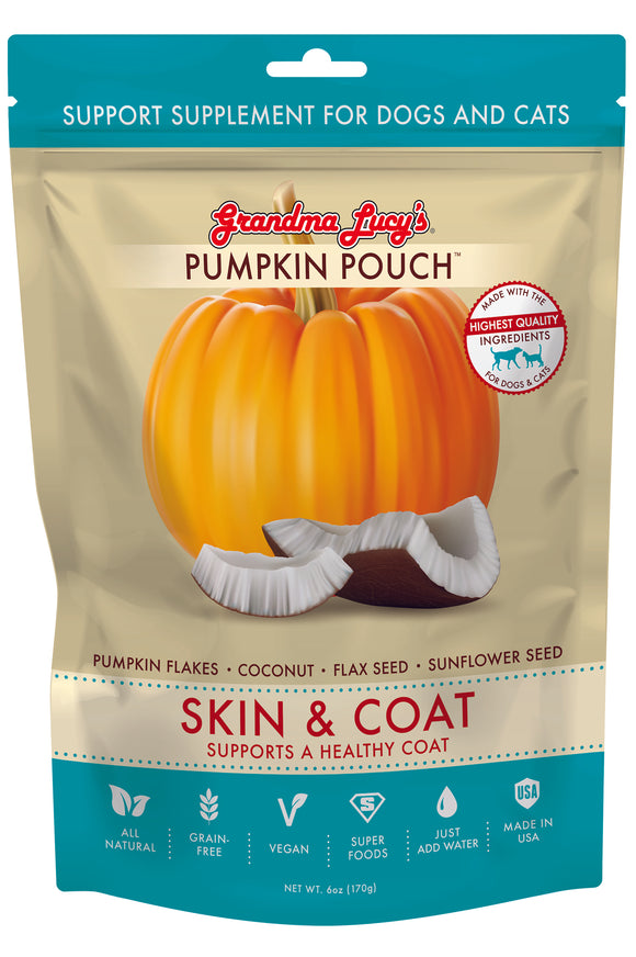 PUMPKIN POUCH - SKIN & COAT (6OZ)