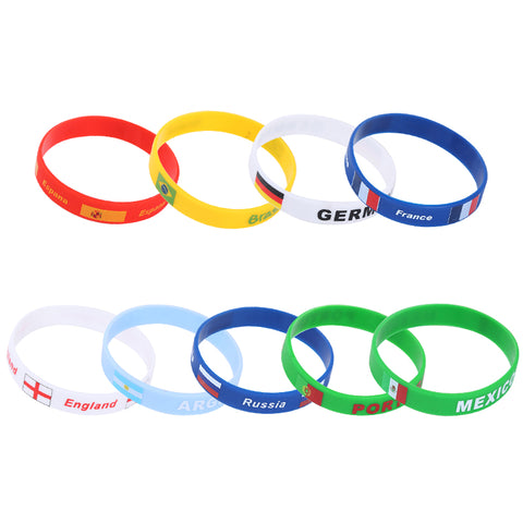 2018 2 pieces World Cup  Football Wristband