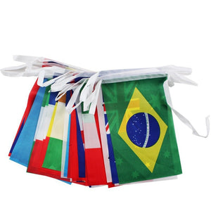Hanging Flags- 32 Pieces