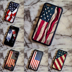 American Flag/Statue of Liberty Flag Phone Cases for Samsung