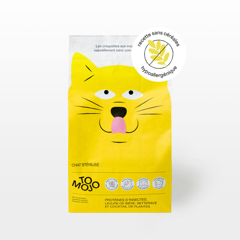 ADULT CAT FOOD WITHOUT CEREALS