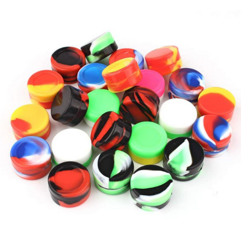 10 pcs Silicone wax container 10ml - wholesale