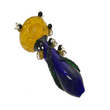 Bumble bee glass pipe  by Meta funky