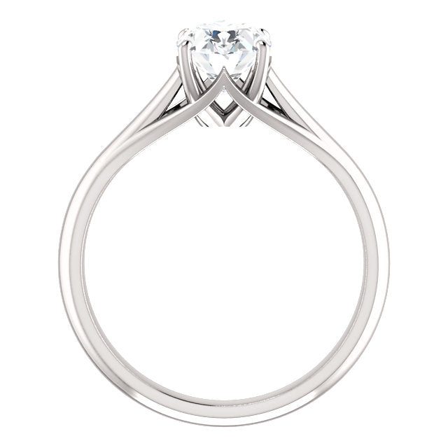 The Matilda - Solitaire Oval Diamond Engagement Ring
