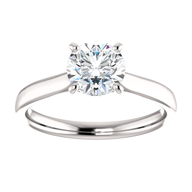The Aria - Solitaire Round Diamond Engagement Ring