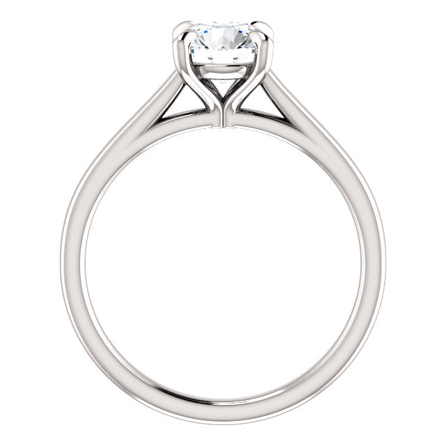 The Jenna - Solitaire Round Diamond Engagement Ring