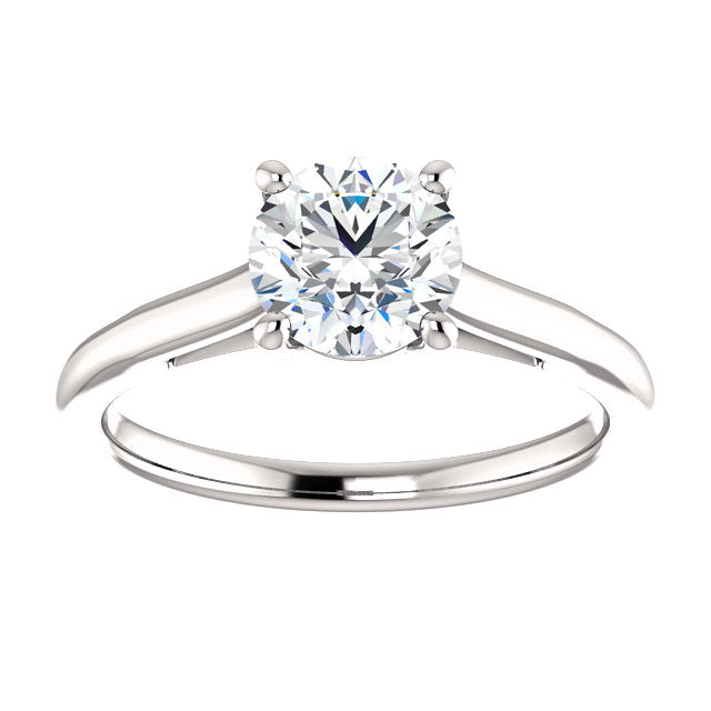 The Hannah - Solitaire Round Diamond Engagement Ring