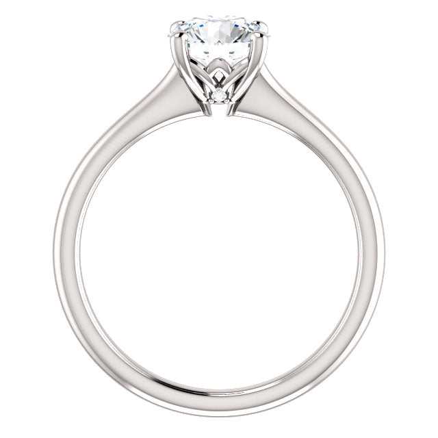 The Molly - Solitaire Round Diamond Engagement Ring