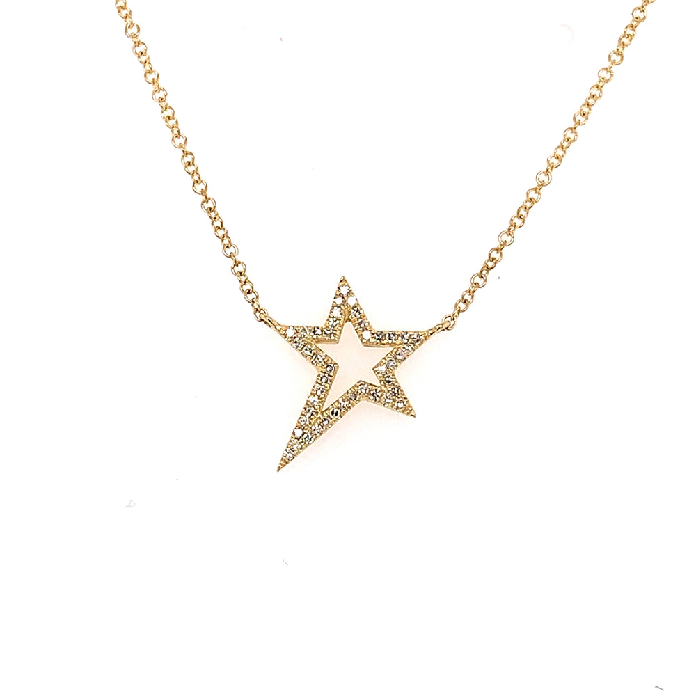 Diamond Star Struck Pendant