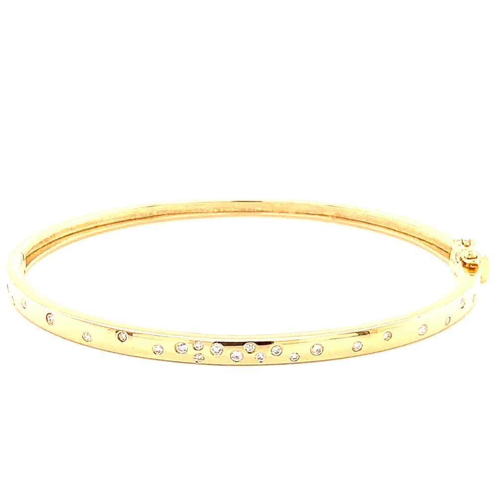 Scatter Diamond Bangle