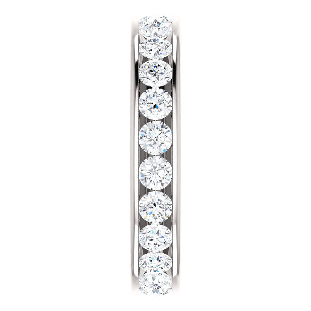 1.75ct 14k Diamond Eternity Classic Channel Set Band