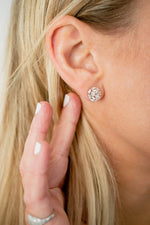 Baguette Diamond Scatter Earrings