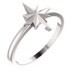 Starburst Stackable Ring