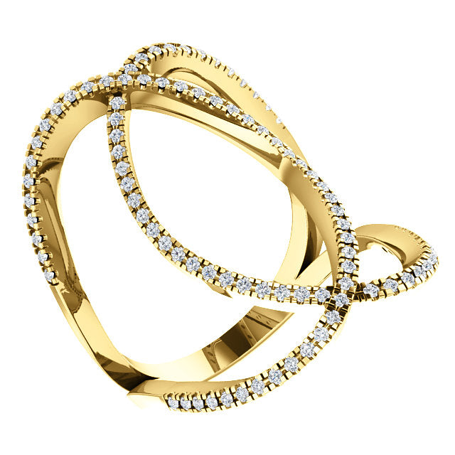 Loop Diamond Ring