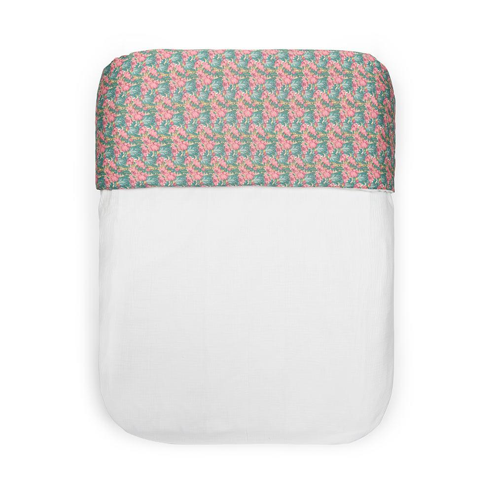 Funda de edredón reversible Liberty Blanco
