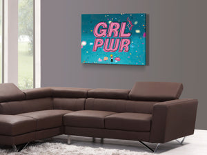 Cuadro Girl Power en Lienzo Canvas