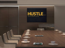 Cuadro Hustle as a verb en Lienzo Canvas