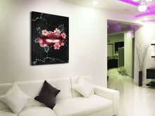 Cuadro Flower Lips en Lienzo Canvas