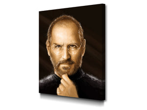 Cuadro Steve Jobs en Lienzo Canvas decorativo moderno