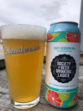 Load image into Gallery viewer, Hazy Session IPA with Grapefruit & Lime