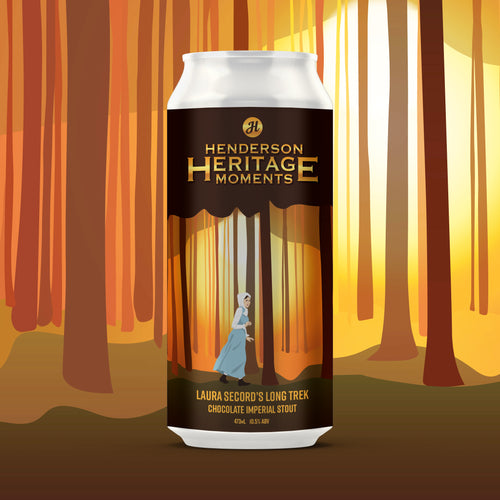Ides of December 2020: Laura Secord's Long Trek Chocolate Imperial Stout