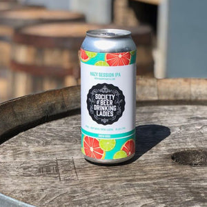 Hazy Session IPA with Grapefruit & Lime
